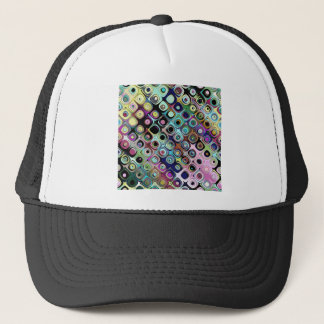 Colorful Abstract Pattern Trucker Hat