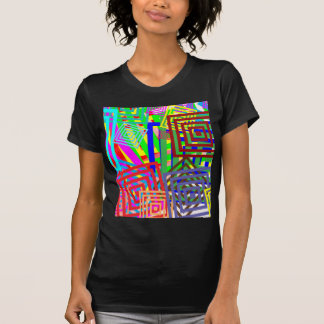 Colorful Abstract Pattern Tshirt