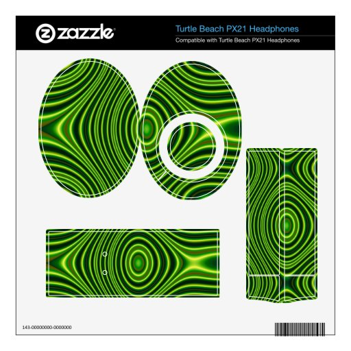 Colorful abstract pattern turtle beach px21 skins