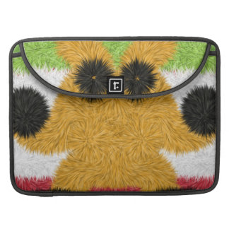 Colorful abstract pattern with strange creature MacBook pro sleeve