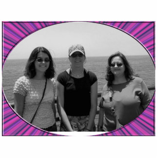 colorful abstract photo cutout
