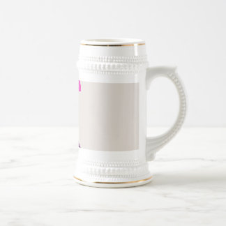Colorful Abstract Picture Beer Stein