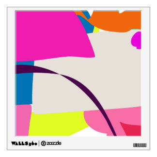 Colorful Abstract Picture Wall Skin
