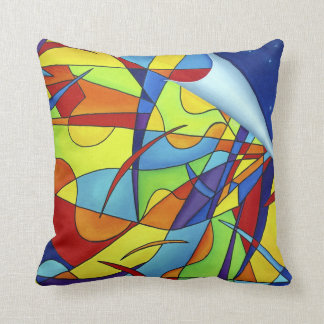 Colorful, Abstract Pillow