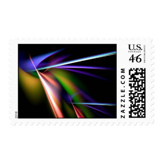 Colorful Abstract Postage
