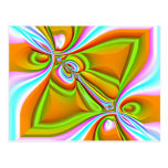 Colorful Abstract ~ postcard