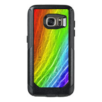 Colorful Abstract Rainbow Pattern OtterBox Samsung Galaxy S7 Case