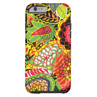 Colorful Abstract Random Floral Collage iPhone 6 Case
