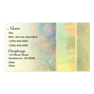 Colorful Abstract Reeds Double-Sided Standard Business Cards (Pack Of 100)
