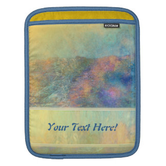 Colorful Abstract Reeds iPad Sleeve