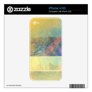 Colorful Abstract Reeds Skin For The iPhone 4