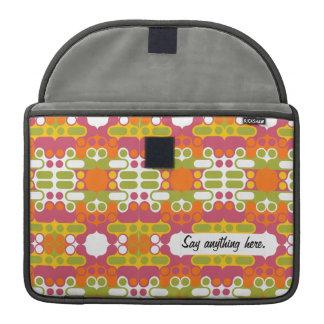 colorful abstract retro art geometric india MacBook pro sleeve