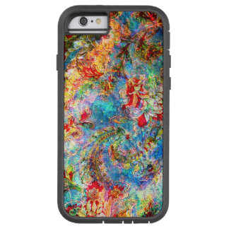 Colorful Abstract Rustic Floral Design Tough Xtreme iPhone 6 Case