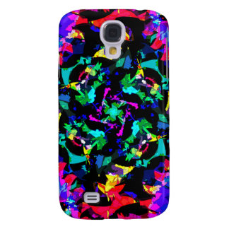 Colorful Abstract Samsung Galaxy S4 Cover