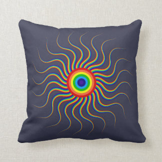 Colorful Abstract shape Pillow