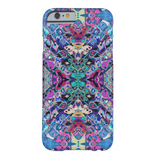 Colorful Abstract Shapes Barely There iPhone 6 Case