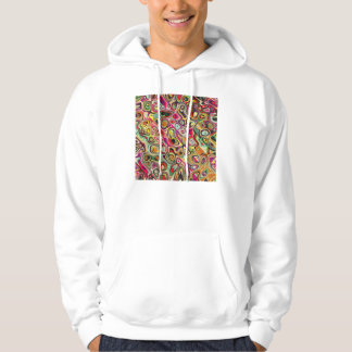 Colorful Abstract Shapes Hoodie