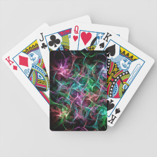 Colorful Abstract Silk Pattern Poker Cards
