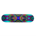 Colorful Abstract Skateboard