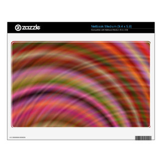 Colorful abstract skins for medium netbooks