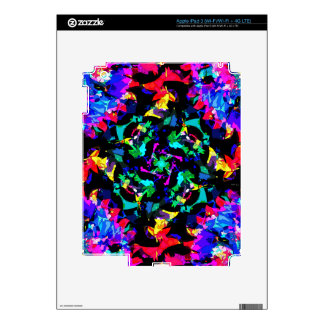 Colorful Abstract iPad 3 Skins