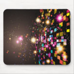 Colorful Abstract Space Mouse Pads