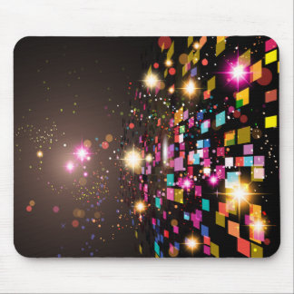Colorful Abstract Space Mouse Pad
