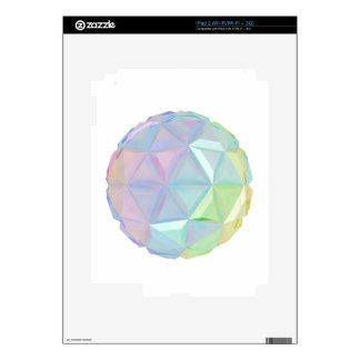 Colorful abstract sphere skins for the iPad 2