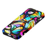Colorful Abstract Stained Glass Design iPhone 5 Cover