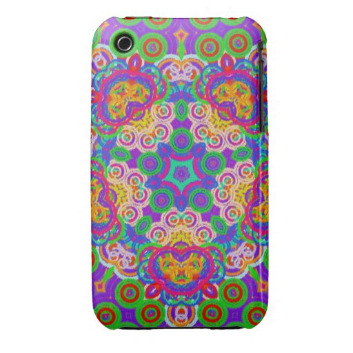 Colorful Abstract Star iPhone 3 Case-Mate Cases