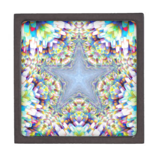 Colorful Abstract Star Premium Gift Boxes