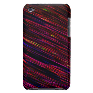 Colorful Abstract Star Streaks red iPod Case-Mate Cases