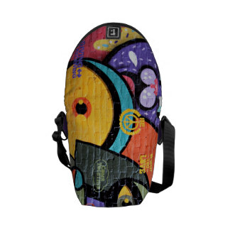 Colorful Abstract Street Graffiti Art Messenger Bag