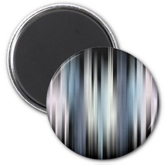 Colorful Abstract Stripes Magnet