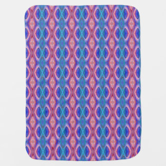 Colorful Abstract Stroller Blanket