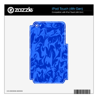 Colorful Abstract Swirl Skin For iPod Touch 4G