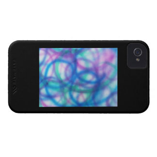 Colorful Abstract Swirls. iPhone 4 Case-Mate Case