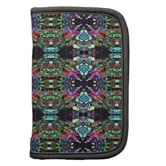 Colorful Abstract Symmetry Folio Planner