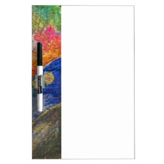 Colorful Abstract texture art Dry-Erase Board