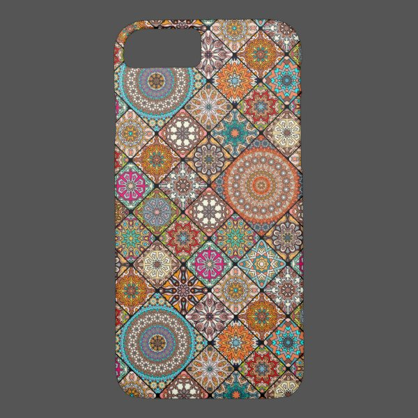 Colorful abstract tile pattern design Case-Mate iPhone case