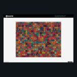 "Colorful abstract tile pattern design skin for 12&quot; laptop<br><div class=""desc"">Colorful abstract tile pattern design by Somberlain</div>"