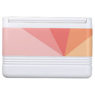 Colorful Abstract Triangle Pattern Igloo Cooler