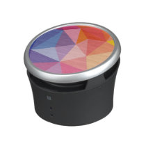 Colorful Abstract Triangle Pattern Speaker