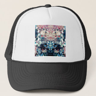 Colorful Abstract Triangles Trucker Hat