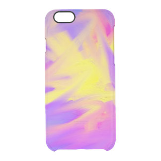 Colorful Abstract Uncommon Clearly™ Deflector iPhone 6 Case