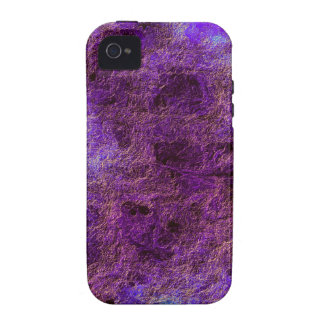 Colorful Abstract Violet Purple Case-Mate iPhone 4 iPhone 4 Cases