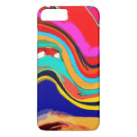 Colorful Abstract Wave Of Color Iphone 7 Plus Case at Zazzle