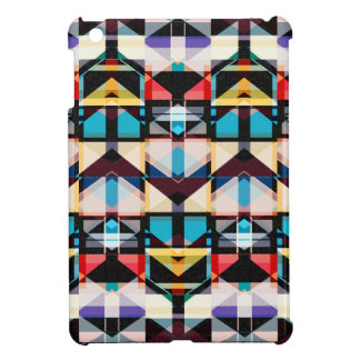 Colorful Abstract Weave Pattern iPad Mini Cases
