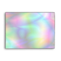 Colorful Abstraction A7 Greeting Card Envelope