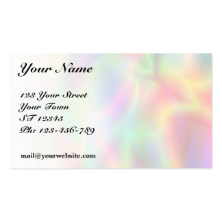 Colorful Abstraction Business Card